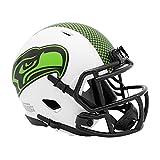 NFL Speed Seattle Seahawks Lunar Eclipse - Mini casco de fútbol americano