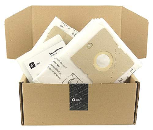 10 Bolsas de alta calidad + 2 microfiltros recortables para aspirador AmazonBasics W11 G51