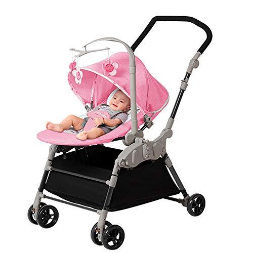 Baby Bites GOUO@ Silla Mecedora Eléctrica 2 En 1 para Bebés Cochecito...