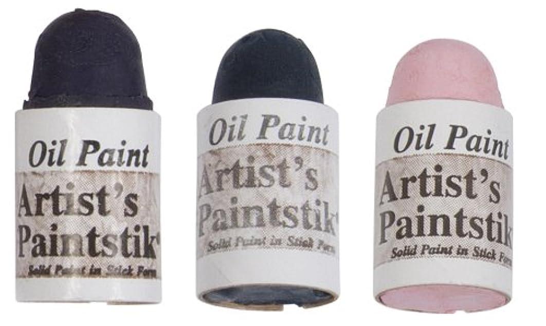 Jack Richeson Shiva Oil Paintstik, Popular Colors, Set of 3