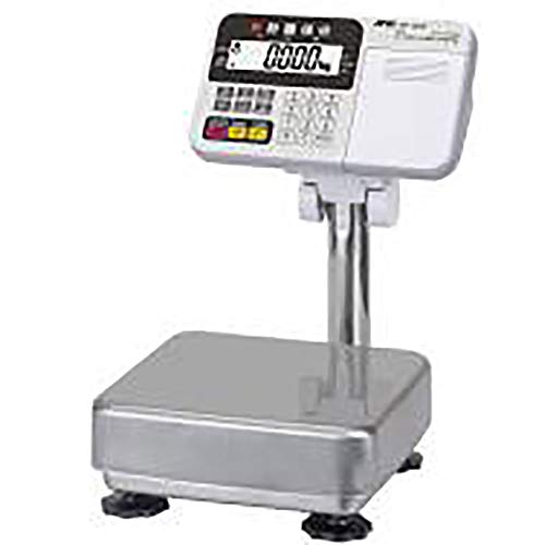 A&D Pesaje HV-15KCP Balanza de banco con impresora, 3/6/15 kg x 0.001/0.002/0.005 kg, aprobada por NTEP
