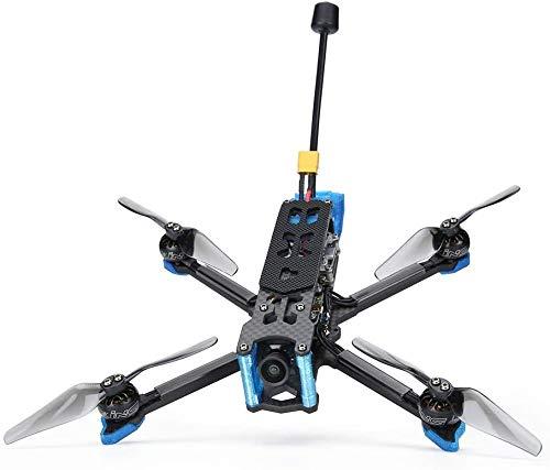 UGUTER Hélice de la Hoja CHIMERA4 4S FPV Freestyle Long Range 4Inch BNF Drone Construido con El Sistema CADDX NABULA Nano Vista HD para Gafas FPV Y Control Remoto Hojas de reemplazo de Drone