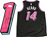 Tyler Herro Autographed Miami Heat ViceNight Swingman Jersey (JSA) - Autographed NBA Jerseys