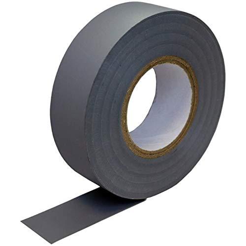 PVC Isolierband 19mm x 20m Klebeband Isoband für Elektriker Bastler grau