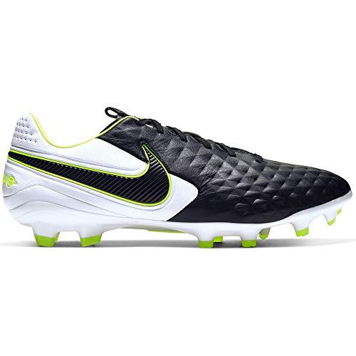 Nike Tiempo Legend 8 PRO FG - Stivaletto da Football Americano, 19/20, 38,5, Nero/Bianco