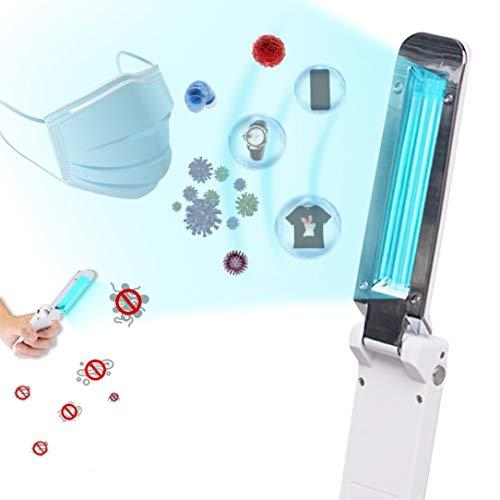 Lampada Germicida UV Portatile, Pieghevole Lampada UV Antibatterica UVC Luce Tasso Antibatterico 99.9% Senza Prodotti Chimici per Casa Ufficio Hotel