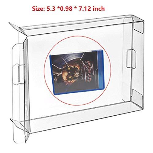 RUITROLIKER 10 Pcs Funda CIB Protector Box Vaina de para Caja de Cartucho de Juegos PS VITA