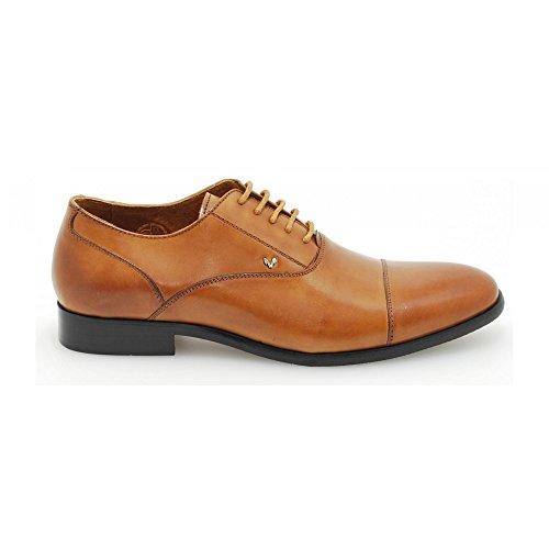Martinelli 373-0204 - zapatos de vestir con cordón para hombre (42, Cuero)