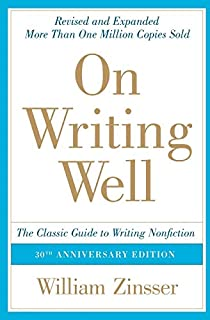 On Writing Well: The Classic Guide to Writing Nonfiction (0060891548) | Amazon price tracker / tracking, Amazon price history charts, Amazon price watches, Amazon price drop alerts
