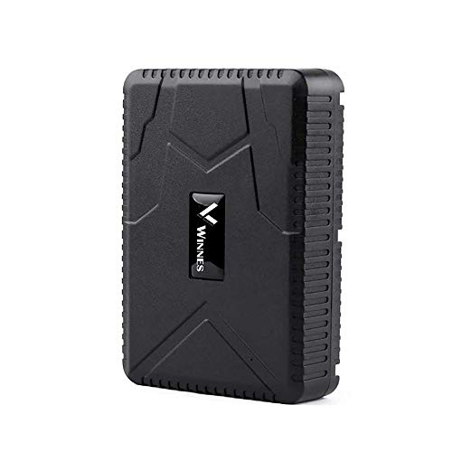 Rastreador GPS Zeerkeer, Rastreador de automóvil a Prueba de Agua Localizador GPS Anti-pérdida 120 días de Espera Rastreador GPS Recargable magnético Fuerte para automóvil/vehículo/Moto