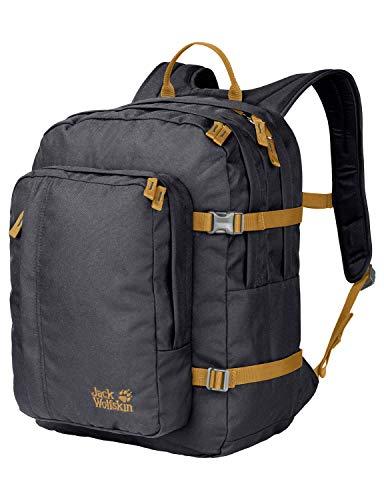 Jack Wolfskin Berkeley, komfortabler Rucksack für Büro, Uni und Alltag, DIN-A4-tauglicher Tagesrucksack, Backpack mit breiten Gurten und guter Lastenverteilung