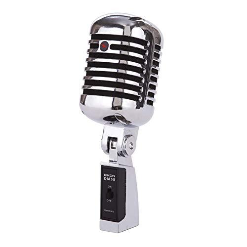 Proel EIKON DM55V2 - Microfono Dinamico Cardioide Professionale Vintage in metallo (EIKONDM55V2)