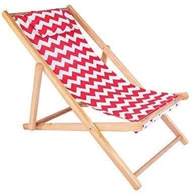Aoyo Chaise longue pliante en bois massif d'extérieur pour balcon 16 styles (couleur : D, taille : 2), taille : 2, couleur : G, F, 1