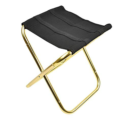 TRJGDCP Chaise de pêche en Plein air Portable Aluminium Tissu Oxford Pliant Tabouret de Pique-Nique Camping pêche Pliable Chaise Fish Tackle Pesca Outil klappstuhl
