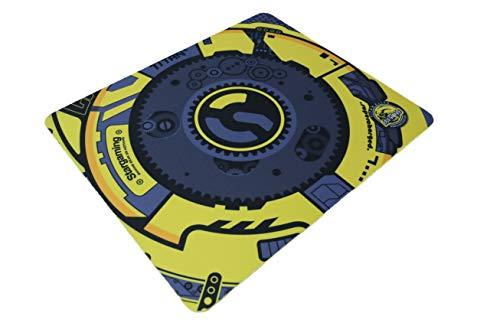 Esports Tiger Titan Gaming Mouse Pad - Yellow, Small (360 x 300 x 4mm)