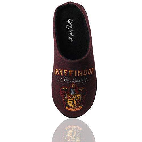 Pantuflas para hombre de Harry Potter Baranec Gryffindor, color Rojo, talla 44 EU