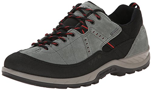 Ecco YURA Damen Outdoor Fitnessschuhe, Grau (BLACK/MOON), 37