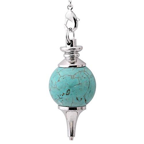 Jovivi. Péndulo para esoterismo, vara de radiestesia y adivinación, piedras de chakra,...