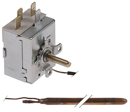 Silanos Thermostat für Spülmaschine N700F, GLS805-GIGA, GLS845-GIGA, N700PS max. Temperatur 86°C 1-polig Fühler ø 6,5x98mm CU