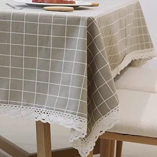 sans_marque Mantel de mesa, mantel de fiesta, mantel de mesa, mantel para interiores o exteriores, cumpleaños, boda, Navidad120 x 120 cm