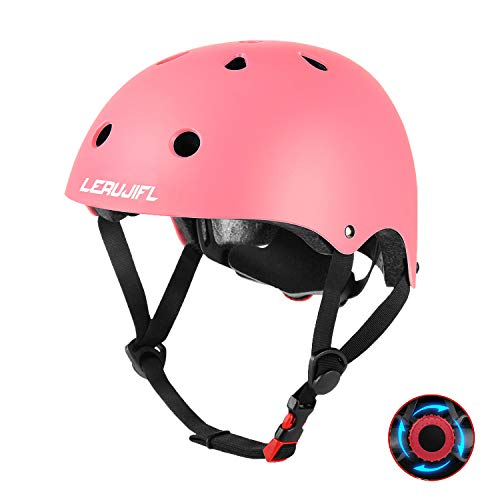Kids Adjustable Bike Helmet, Suitable for Toddlers/Kids Ages 3-8 Boys Girls, Multi-Sports Safety, Gift for Kids - CPSC Certified