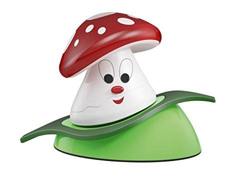 Osram LED Nachtlicht, DoorLED, Taschenlampenfunktion, Dämmerungssensor, Schlummerleuchte für Babys, Fliegenpilz, Tageslicht- 7000K 4052899903500
