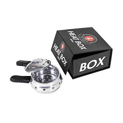 Amy Deluxe »Heat Box« Shisha Aufsatz - Zubehör - Ideal für Shisha Phunnels und andere Köpfe geeignet - Sehr gute Hitzeverteilung, intensiver Geschmack - Für bis zu 3 Kohlen