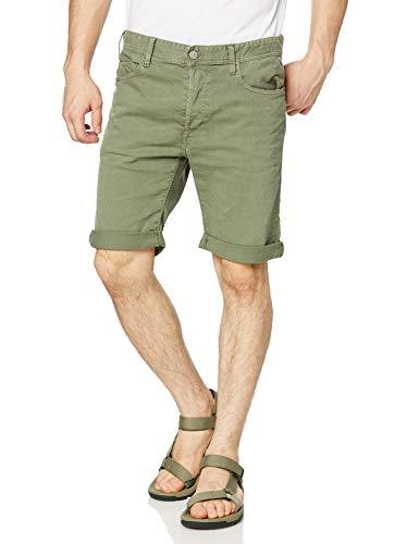 Replay Herren RBJ.901 Shorts, Grün (Olive Green 574), W(Herstellergröße: 32)