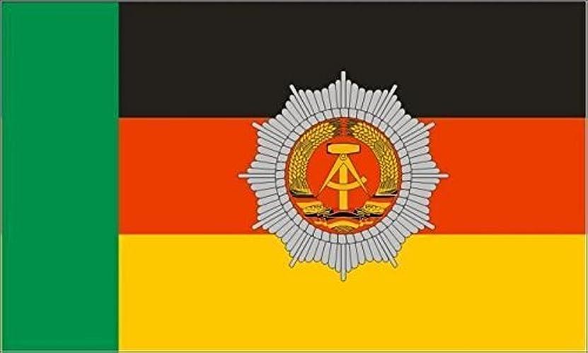 U24Drapeau du DDR Police des Frontières haute qualité pour bateau drapeau 120x 180cm