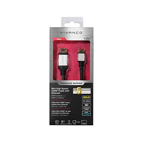Vivanco 42204 cable HDMI 1,2 m HDMI Type A (Standard) HDMI Type...