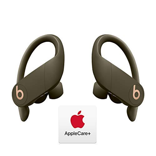 Powerbeats Pro Totally Wireless Earphones - Apple H1 Chip - Moss with AppleCare+ Bundle