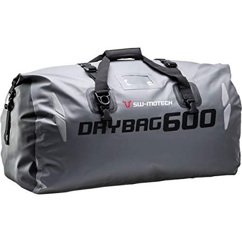 SW-MOTECH Drybag 600 Hecktasche 60L, Grau/Schwarz, Wasserdicht