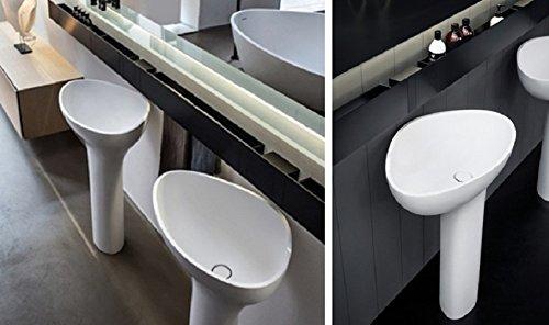 Agape Drop Waschbecken geformte Waschbecken Bodenablauf acer1099F
