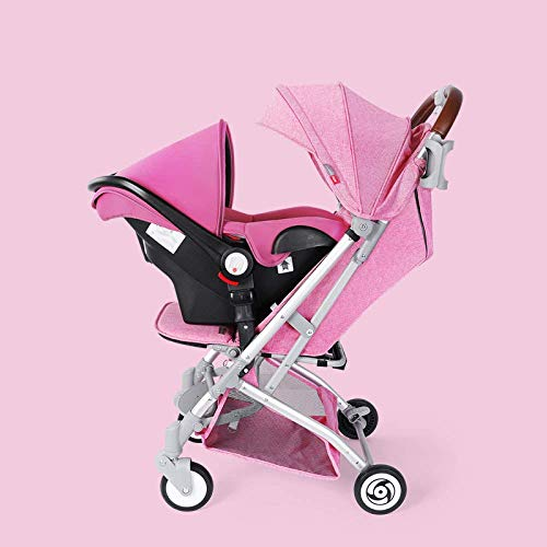 Buy Baby carriage Pushchair Lightweight Baby Stroller Pram Easy One Hand Fold from Birth to 25 Kg an...