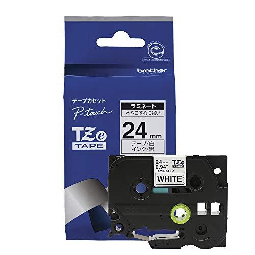 Brother Original P-touch Schriftband TZe-251 24 mm, schwarz auf weiß (u.a. für Brother P-touch P700, -2430, -D600, -9700PC, -P750W)