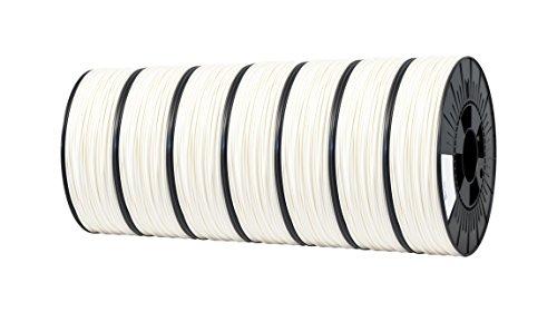 Ice fialements 7valp102PC Abs Filament, 1,75mm, 0,50kg, Wondrous White (Lot de 7)