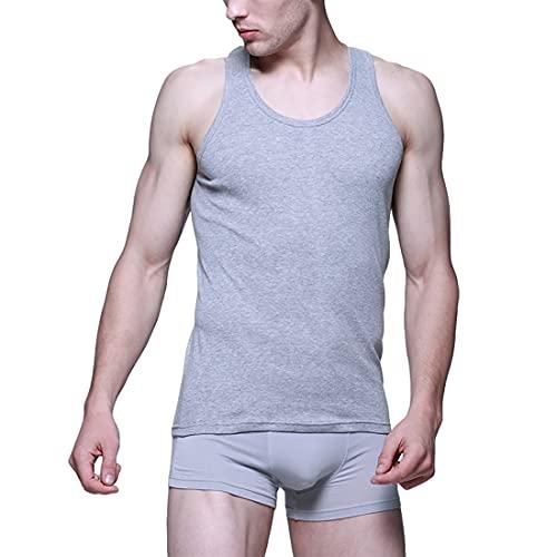 MUCHAO Pack de 2 Chalecos Deportivos Ligeros para Hombre, Camiseta Interior para Hombre, Camisetas sin Mangas para Hombre