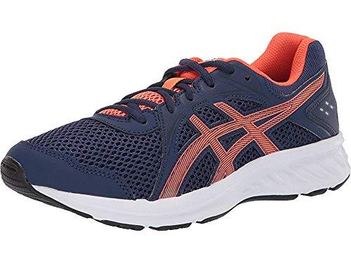 ASICS Kid's Jolt 2 GS Running Shoes, 3.5M, Indigo Blue/NOVA Orange
