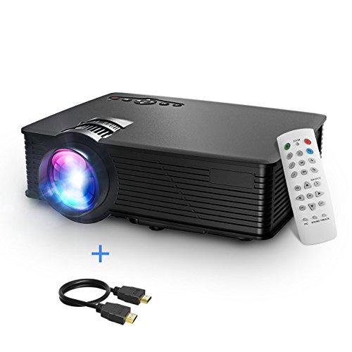 Mpow LCD Proyector, 1200 Lúmenes LED Mini Proyector Portátil Multimedia...