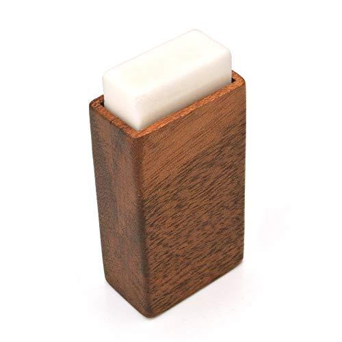 【木製雑貨LIFE】 MONO消しゴム専用ケース・カバー・スリーブ MONO消しゴム付き 型番101974 【国内正規品】 こげ茶