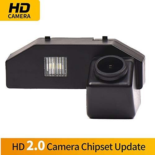 HD 1280x720p Farbkamera Wasserdicht Rückfahrkamera kennzeichenbeleuchtung Kamera KFZ Rückfahrsystem mit Einparkhilfe Nachtsicht für Mazda RX-8 2004-2011 Mazda 6 2009-2014