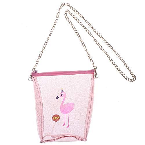 Flamingo Handytasche Bedruckt PVC süße geldbörse umhängetasche für mädchen Frauen Damen