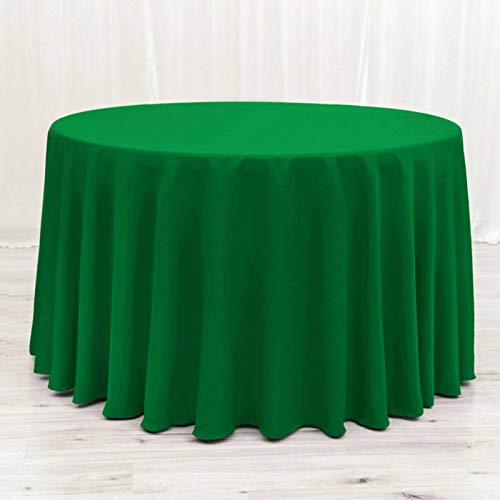 Redonda Mantel,Color Sólido Protector para Mesa Poliéster Grande Protección contra El Calor Mantel De Mesa para Decoración De La Boda del Restaurante-Verde esmeralda-rectangulares140*180cm(55*71in)