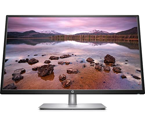 """HP 32s – Monitor de 32"""" Full HD (1920 x 1080, 60Hz, 5ms, IPS LED, 16:9, HDMI, VGA, Antirreflejo, Antiestático, Inclinación Ajustable) Negro"""