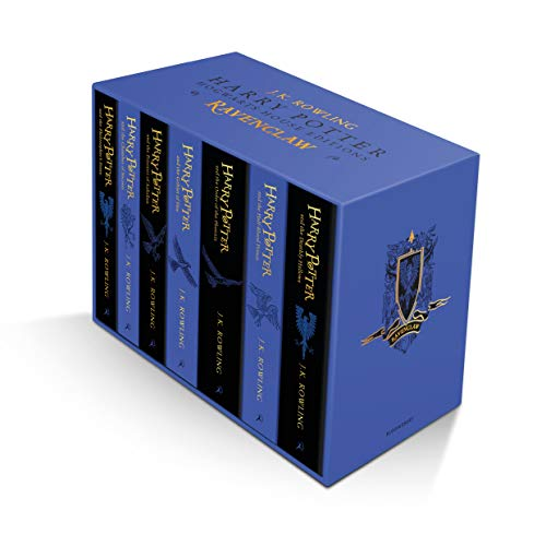 Harry Potter Ravenclaw House Editions Paperback Box Set: 1-7