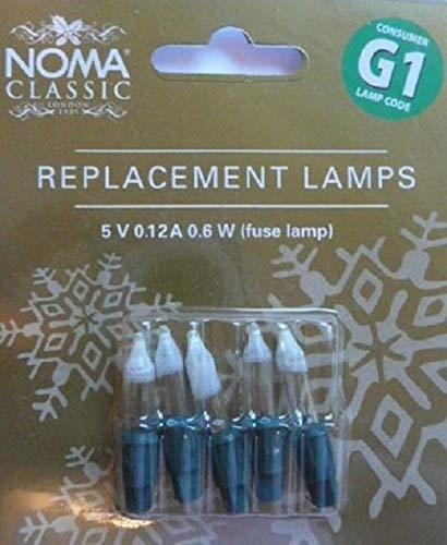 Spare Bulbs - Noma Lites G1 Spare Bulbs Fuse 0344F