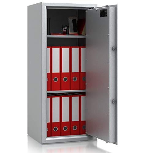 SafeHero Aktentresor S1 EN 11450 Secureo Condor Light 2 | H996xT426xT380 mm | 68 kg | Elektronikschloss | Platz für 12 DIN A4-Ordner | umlaufender Feuerfalz