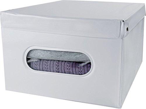 Compactor Home RAN6277 Boite Smart Compactor, PVC ET Carton, Blanche, 40 x 50 x 25cm, Plastique, Blanc, M