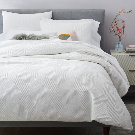 Organic Modern Geo Shams | west elm - KING