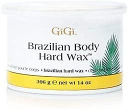 GiGi Hard Body Wax for Brazilian and Sensitive Areas, 14 ounce